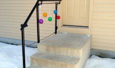 Sisäänkäynnin portaiden käsijohde